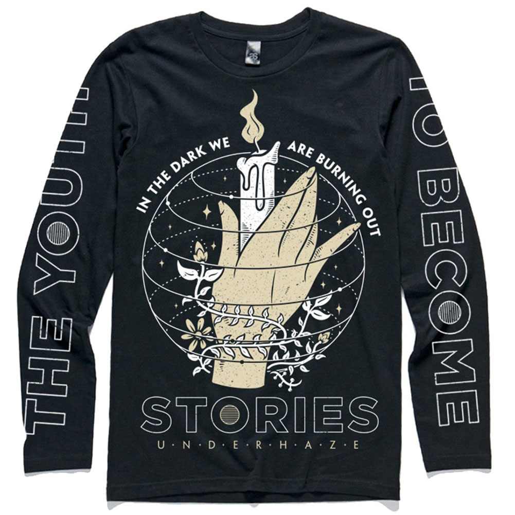 Stories Men's  Candle  Long Sleeve Black