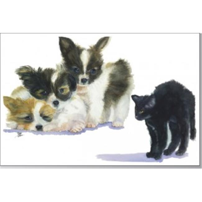Rainbow Card Company PC300-SSB Puppy Post Cards -25 Pack Scary, Spooky, and Boo