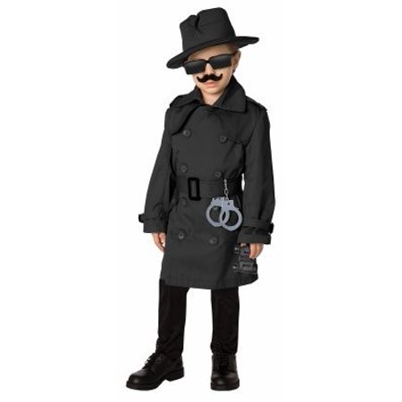 Spy Child Halloween Costume](Halloween Music Worksheets For Kids)