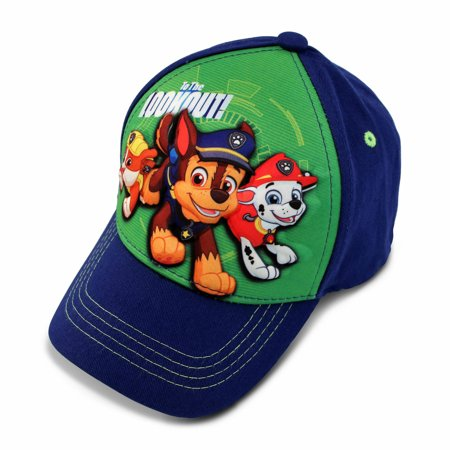 Nickelodeon Toddler Boys Paw Patrol Character 3D Pop Baseball Cap, Age 2-4 - Skunk Hat With Paws