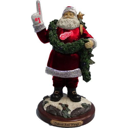 NHL - Detroit Red Wings 2012 #1 Foam Finger Santa Figurine