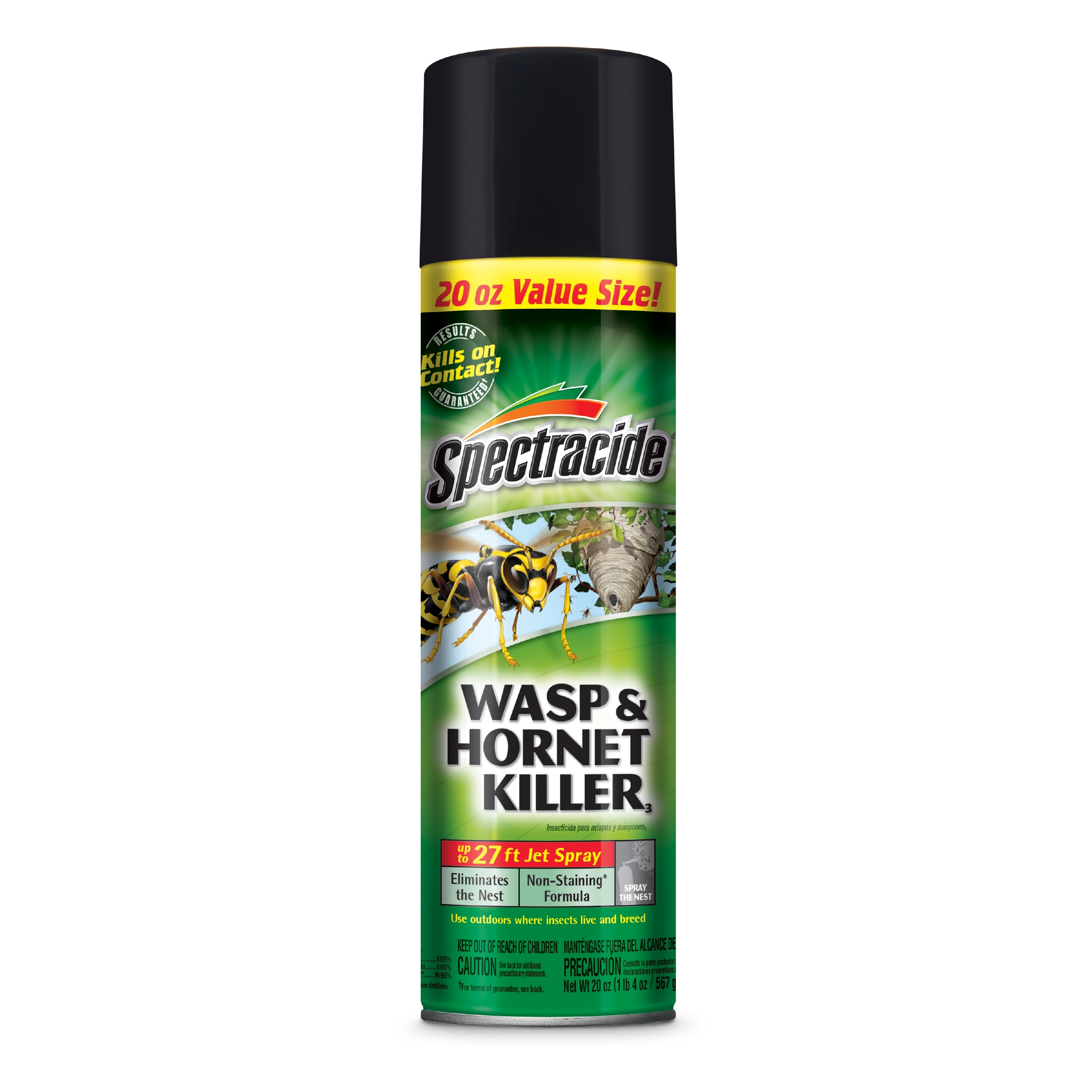 Spectracide Wasp & Hornet Killer, Aerosol, 20 ounces