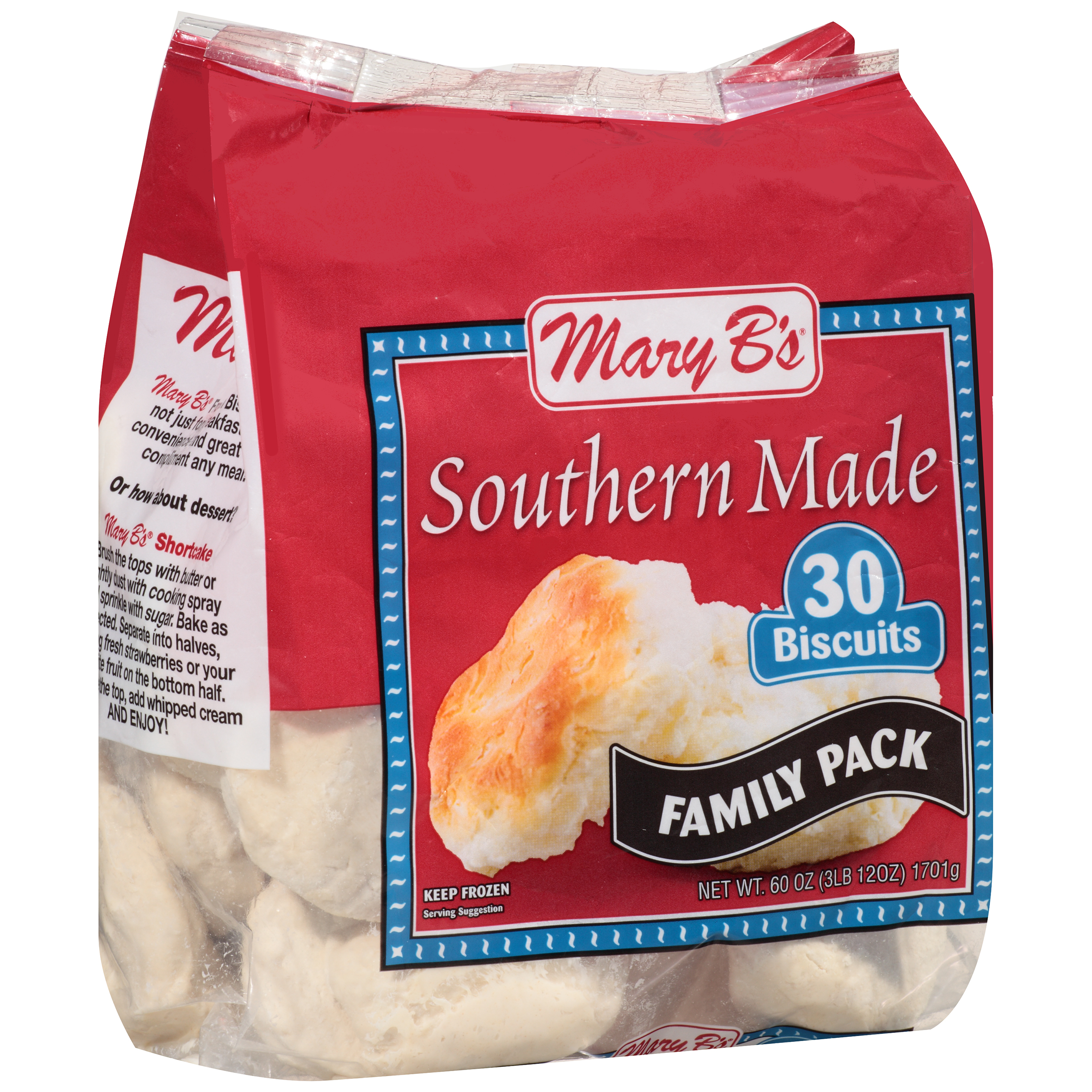 Mary B's® Southern Made Biscuits 30 ct Bag