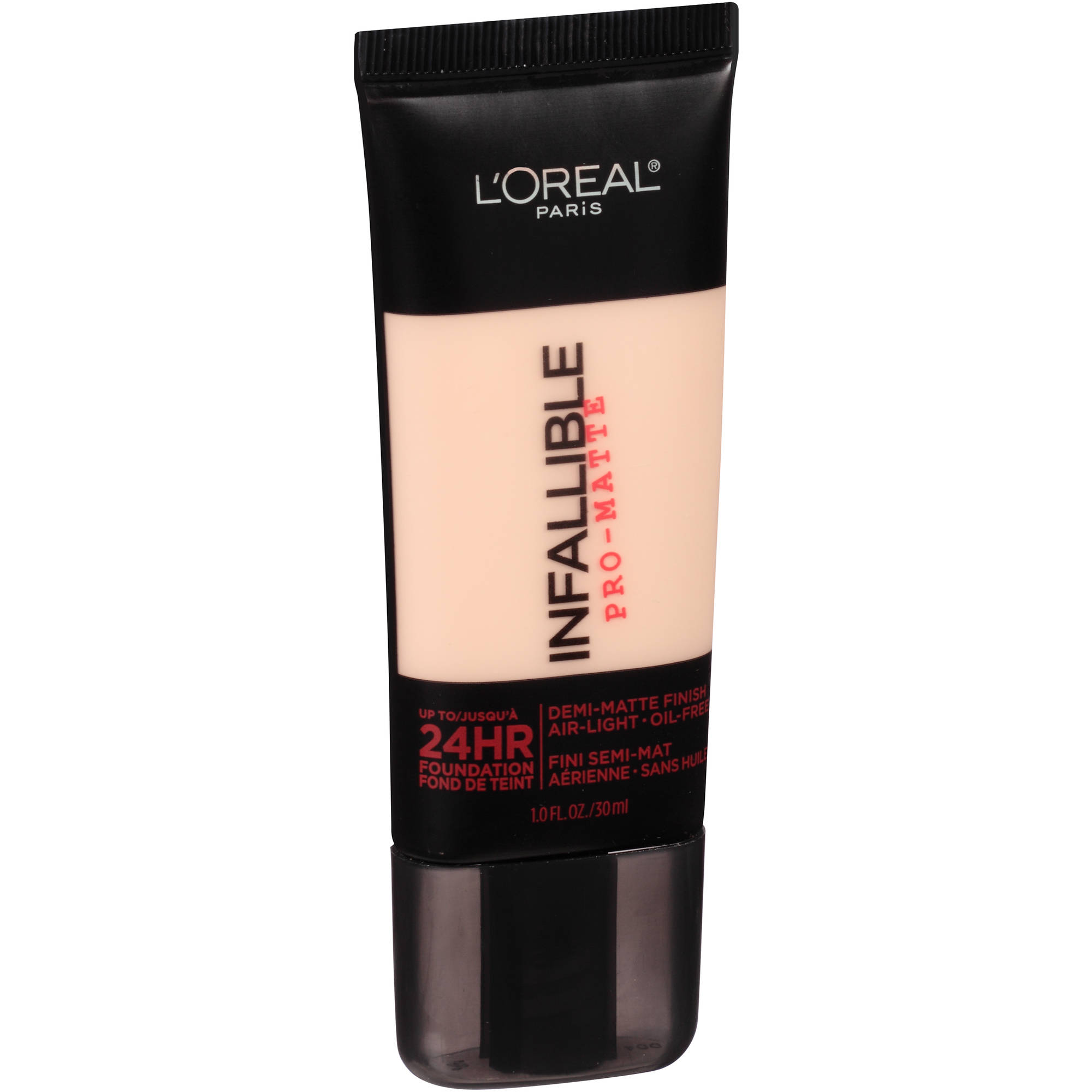 L'Oreal Paris Infallible Pro-Matte 24HR Foundation, 101 Classic Ivory, 1.0 oz - Walmart.com