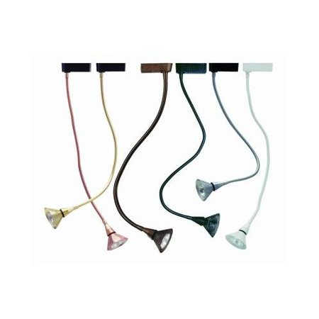 Cal Lighting HT-257 1 Light Flexible Goose Neck Track Head for HT Series Track S ()