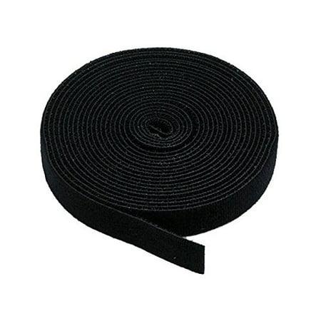 iMBAPriceÃ?Æ?ââ?¬Å¡Ã?â??Ã?® 5 yard Cable Fastening Tape with .75 inch Hook (Black) Hook Tape Foliage
