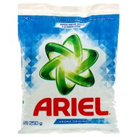 New 350345  Ariel Powder Detergent 250 Gr Oxianillo (36-Pack) Laundry Detergent Cheap Wholesale Discount Bulk Cleaning Laundry Detergent Bud Vase