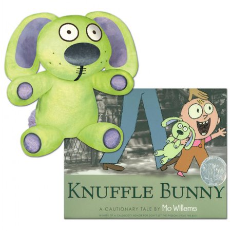 Knuffle Bunny Hardcover Book & Plush Set