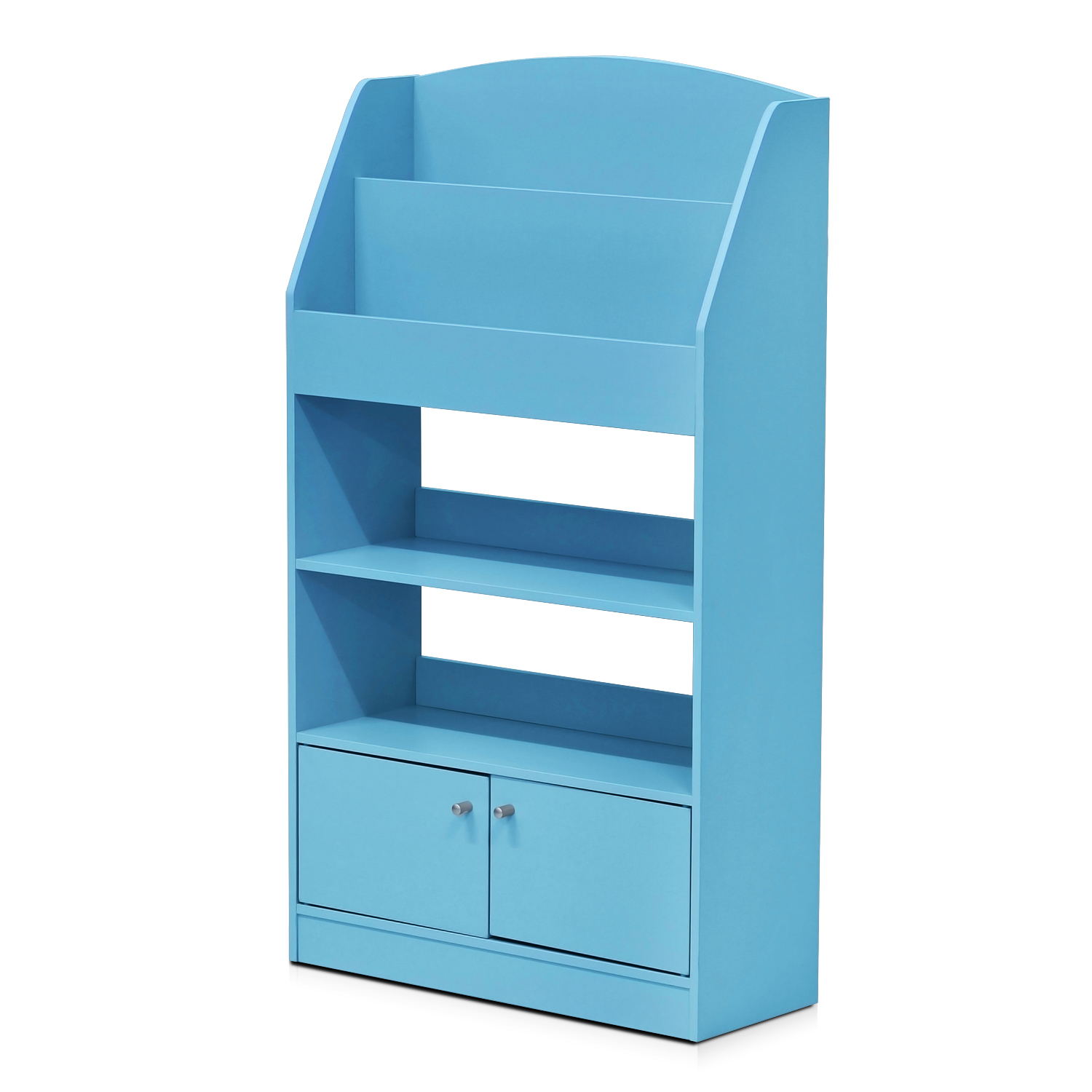 Furinno Kidkanac Magazine/Bookshelf with Toy Storage Cabinet