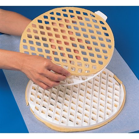 "Lattice pie-top Dough Cutter - 2 Pc. Set - 11-1/2"" Dia."