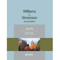 NITA: Williams v. Simonson: Case File, Trial (Paperback)