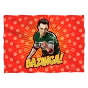 Big Bang Theory Bazinga Poly 20X28 Pillow Case White One Size