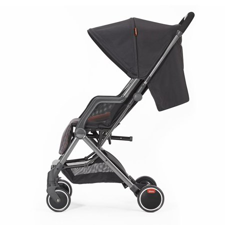 Diono Traverze Super Compact Stroller - Charcoal Hive with Copper Chassis - image 1 of 11