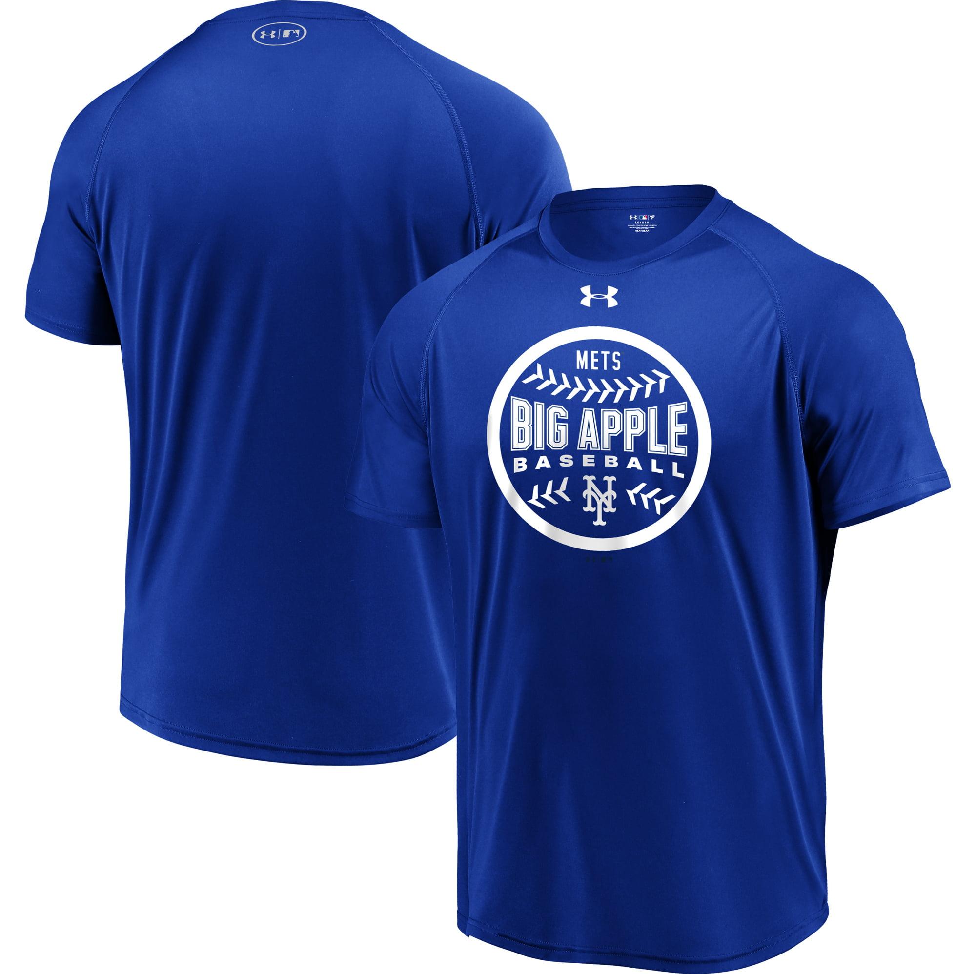 New York Mets Under Armour Intensity Ball Performance T-Shirt - Royal