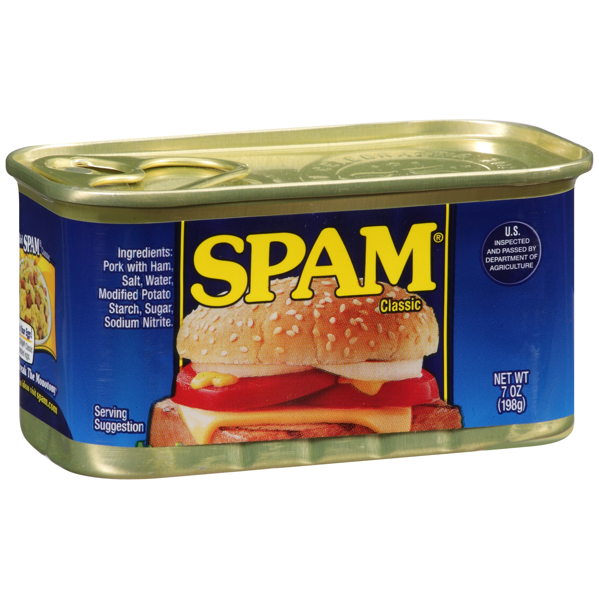 SPAM Classic Canned Meat 7 oz. Can by Hormel Foods Corporation