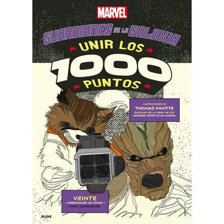 Marvel Guardianes de la Galaxia : Unir los 1000 puntos - La Galaxia Halloween