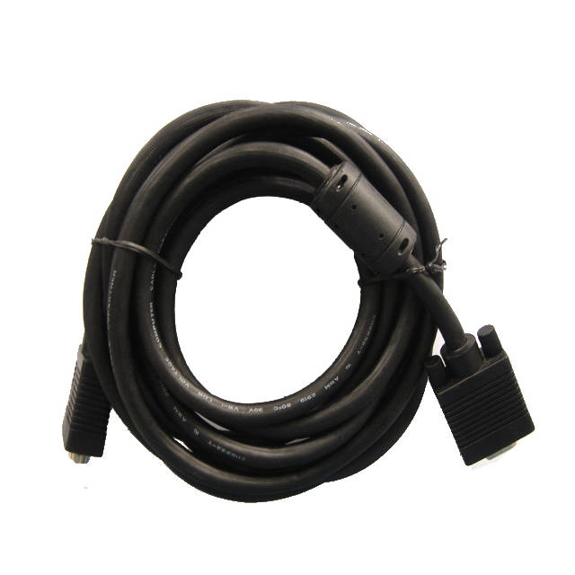 iMicro M8544-1515MM 15ft HD15 Male to HD15 Male SVGA Cable (Black)