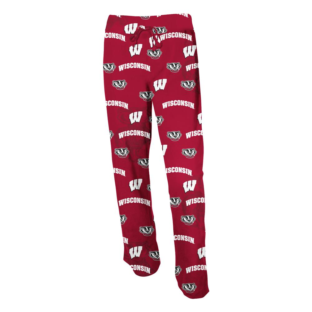 Ladies University of Wisconsin Badgers Pajama Pants