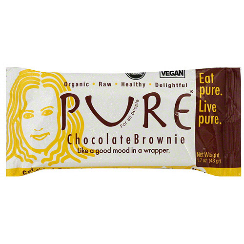 Pure Organic Chocolate Brownie Snack Bars, 1.7 oz (Pack of 12)