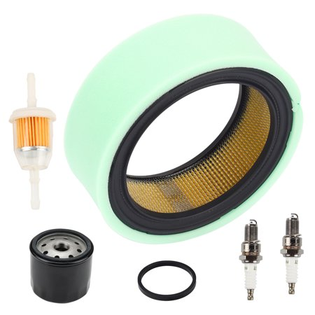 HIPA Air Filter with Oil Filter Fuel Filter Kit for Kohler Air Filter CV675-CV740 CH18-CH25 CV18-CV25 CH730-CH740 Command 18 thru 25 HP Engine replace 12 050 01-S, 25 050 22-S, 24 883 03-S1, 47 083