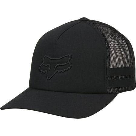 Fox Racing Womens Head Trik Snapback Trucker Hat - (Fox Racing Black Belt)