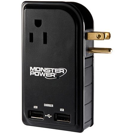 Monster MPOTG300TBEF 133233-00 Outlets to Go 300 Travel