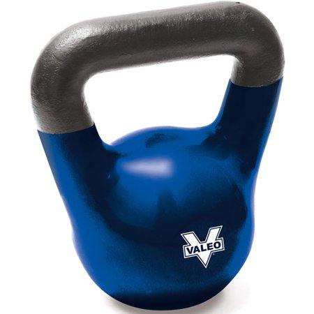 Valeo 35-lb Kettle Bell, Royal Blue