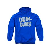Dum Dums Distressed Logo Mens Pullover Hoodie