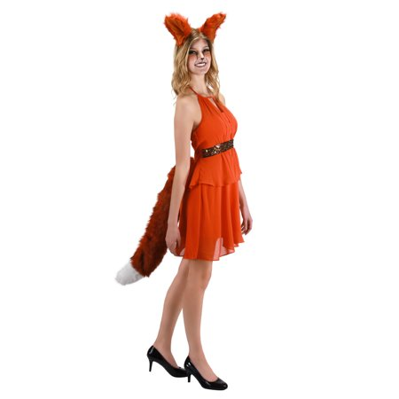 Elope Women's Tail Oversized Fox Tail