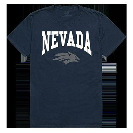 W Republic Apparel 527-193-BGT-02 University of Nevada Reno Athletic Tee, Navy - Medium - image 1 of 1