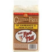 Bob's Red Mill Gluten Free Garbanzo & Fava Flour, 22 oz (Pack of 4)