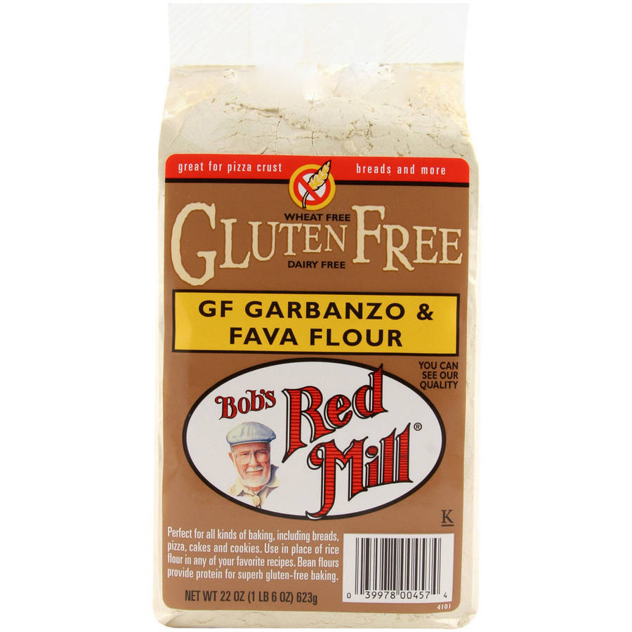 Bob's Red Mill Gluten Free Garbanzo & Fava Flour, 22 oz (Pack of 4)
