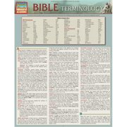 BarCharts 9781423218586 Bible Terminology Quickstudy Easel