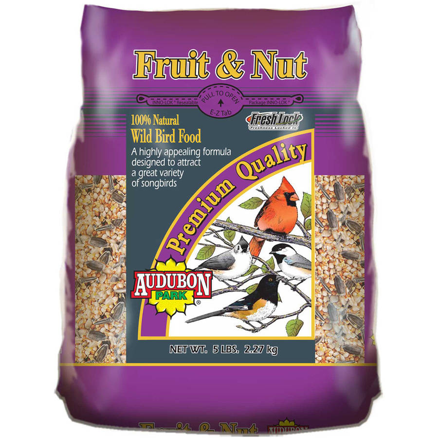 Audubon Park 10297 5 lb Fruit and Nut Wild Bird Food by Global Harvest/woodinville