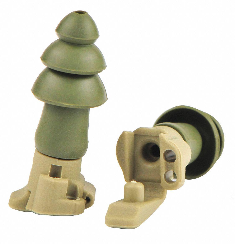 Moldex 24dB Reusable Tapered-Shape Ear Plugs; Corded, Green, M  6498