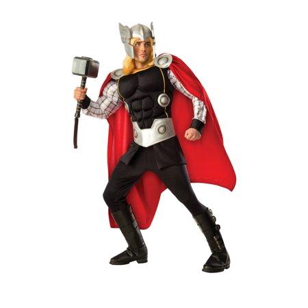 Mens Deluxe Avengers Captain America Civil War Grand Heritage Thor Costume - Thor Mens Costume