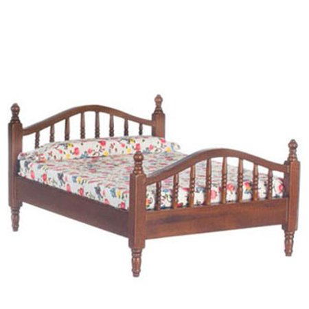 Dollhouse Double Bed Walnut