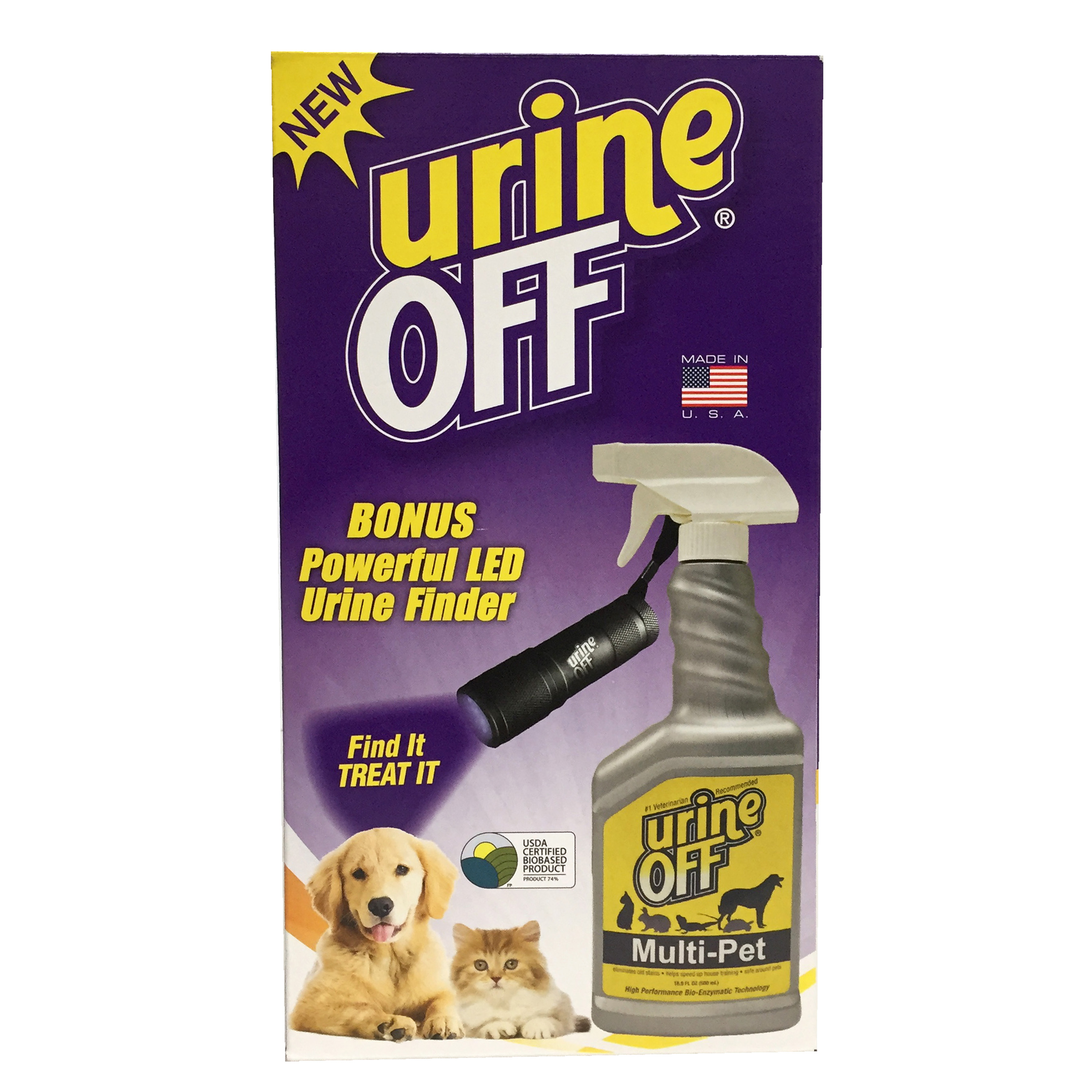 Urine Off Multi-Pet Find It Treat It Kit