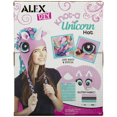 Alex Toys DIY Knot - A Unicorn Hat Kit for Kids - Diy Halloween Crafts For Kids