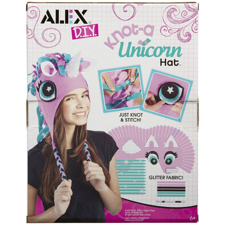 Alex Toys DIY Knot - A Unicorn Hat Kit for Kids