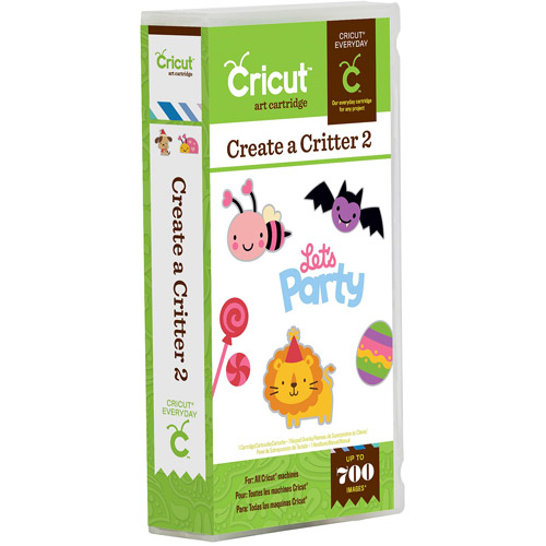 Cricut Shape Cartridge, Create, A, Critter 2
