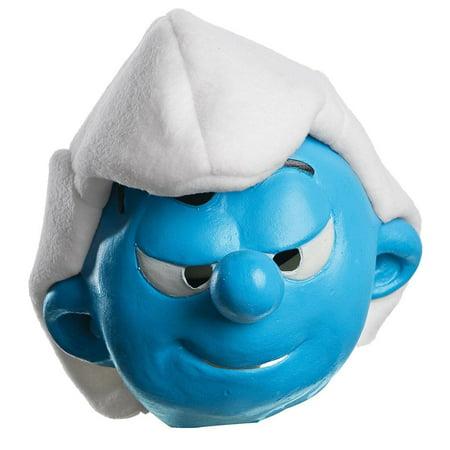 Child's Boys Smurfs The Lost Village Hefty Mask Costume Accessory