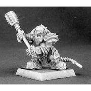 Reaper Miniatures Thunganir, Dark Dwarf Captain #14337 Mercenary Unpainted Mini