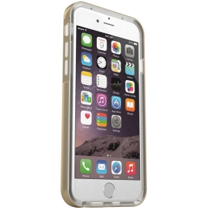 MOTA iPhone 6 LED Flashing Case - Gold - iPhone - Gold, Transparent - Sleek Texture