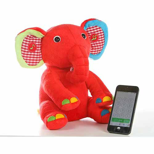 Avanti Toys Kumki Bluetooth Elephant-Bluetooth Multifunction Plush Toy