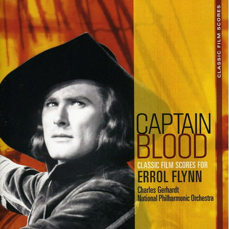 Captain Blood: Classic Film Scores For Errol Flynn (Remaster) (CD) (Halloween Film Music Score)