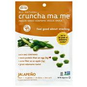 Cruncha Ma-Me Jalapeno Freeze-Dried Edamame Veggie Snack, 0.7 oz, (Pack of 8)
