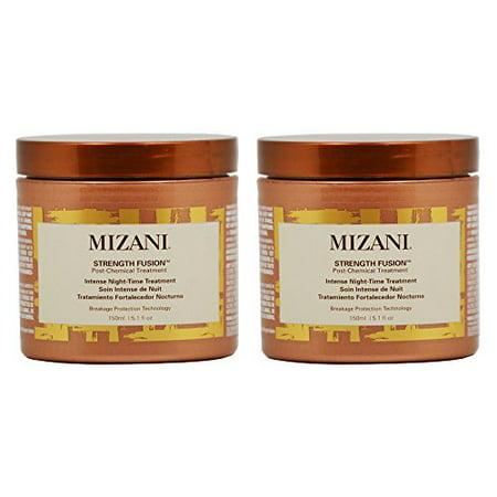 "Mizani Strength Fusion Post-Chemical Treatment Intense Night-Time Treatment 5.1oz ""Pack of 2"""