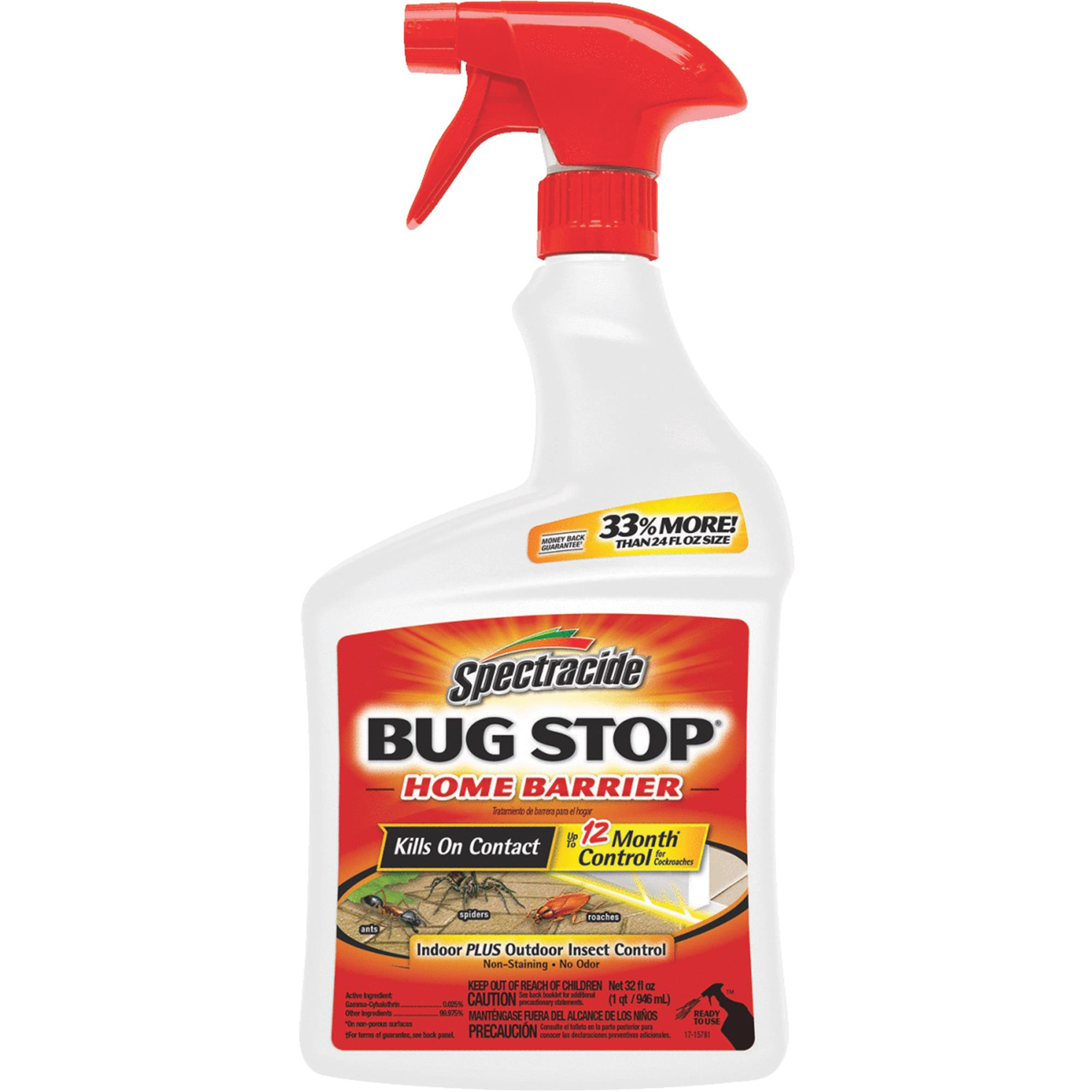 Spectracide Bug Stop Home Barrier Ready-to-Use, 32 oz