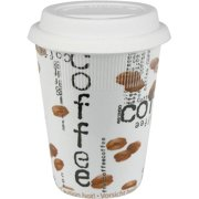 Konitz 4451620873 Set of 4 Travel Mugs Coffee Collage